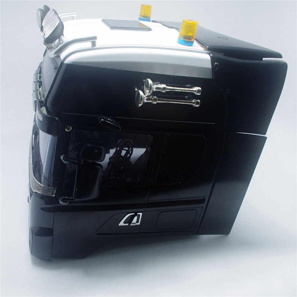 Rc Auto Deurklink Sticker Links Rechts Handvat Mirrored Metallic Stickers Voor Tamiya Scania 620 470 1/14 Rc Auto Shell upgrade Deel