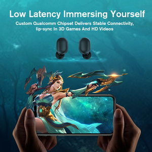 Image 2 - Haylou QCC 3020 GT1 Plus Bluetooth Earphones ,APTX HD Real Sound Wireless Headphones DSP Noise Cancelling Earbuds