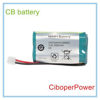 W celu uzyskania DASH2000 baterii na desce rozdzielczej 2000 EKG EKG maszyn tanie i dobre opinie Ciboper Power Ni-mh GP210AAHC2BMXZ 8 Komórki Dentsply 2 4V 2000mAh 51 73x28 77x14 63mm 115g For Dentsply Brown box Black