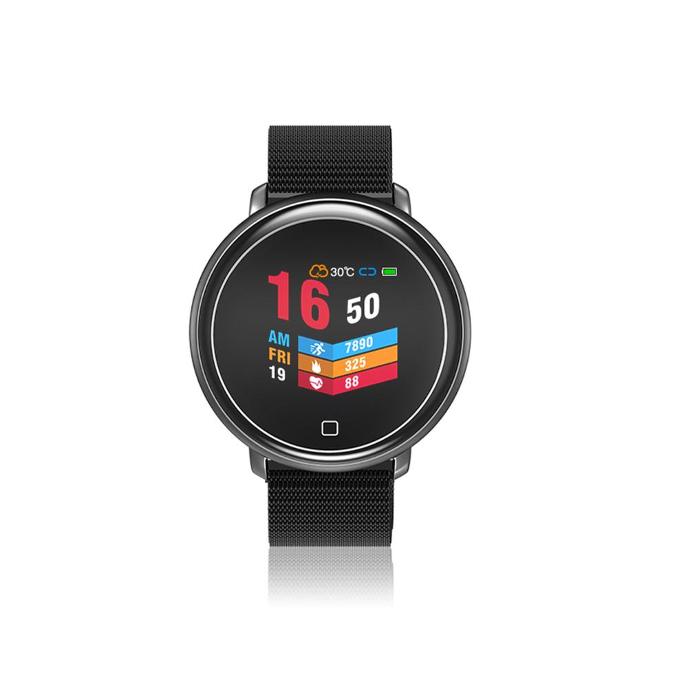 HW03 смарт-браслет часы цветной экран Спорт на открытом воздухе часы монитор сердечного ритма напоминание о звонках 5ATM водонепроницаемый