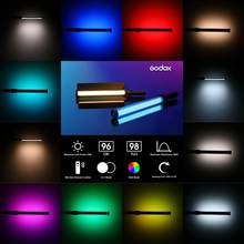 GODOX LC500R RGB Full Color Handheld LED Light Stick 2500K-8500K CRI >95 Remote Control Lithium baterai untuk Video Fotografi(China)