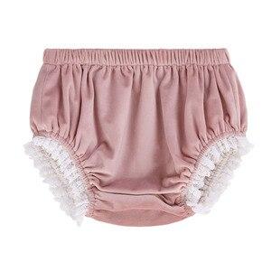 Image 2 - Pettigirl Lace Hem Baby Clothing Set With Velvet Bonnet  Clothes Toddler Boutique Outfit G DMCS206 A348