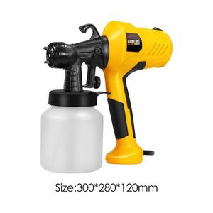 Image 3 - 220V 400W High Pressure Suction Type DIY Spray Paint Tool Airbrush Spray Gun Applicable to Furniture Machinery and DIY
