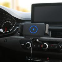 자동차 무선 충전기  코일 자동 감지 자동차 브래킷  갤럭시 폴드 및 아이폰에 대 한 접는 화면 휴대 전화에 대 한 특별히 설계 휴대폰 충전기    -