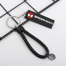 Amazing Avengers Keychain Simple Superhero Batman Spiderman Car Keyring Jewelry Gift