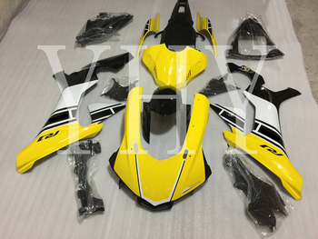 Yellow black Motorcycle fairing kit For YAMAHA YZF1000 R1 2015-2019 2018 2017 2016 Complete Cover Kit ABS Manual molding