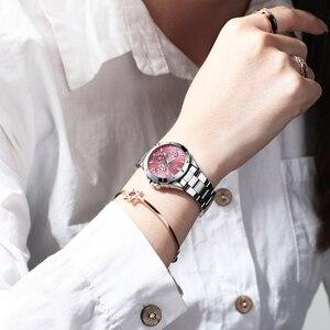 Image 4 - CHENXI montre en acier inoxydable pour femmes, montre de luxe, classique, tendance daffaires, étanche, mouvement à Quartz, horloge, collection 2020