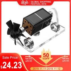 Solar horizontal quatro-lado levitação magnética mendocino motor stirling motor modelo de educação