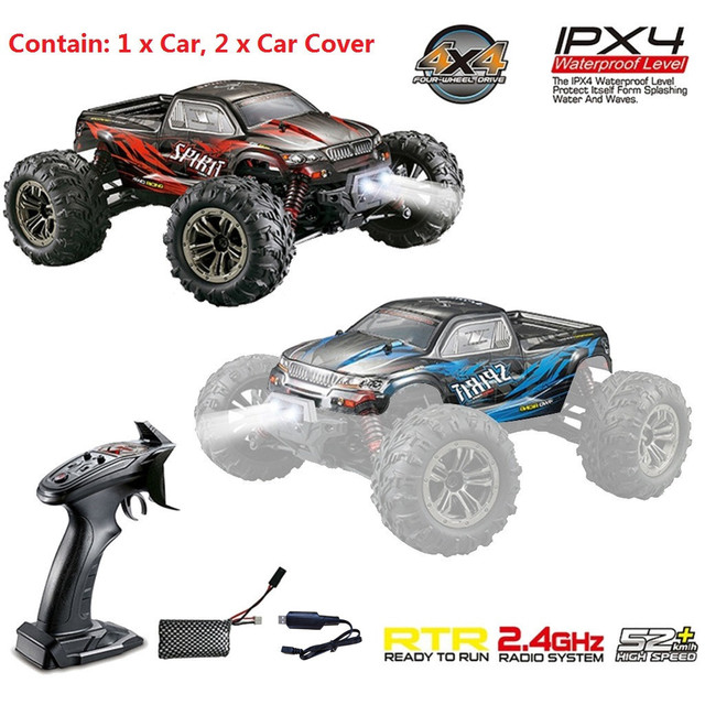 1:16 Racing RC Car Rock Crawler remote Control Truck 15 Mins Play Time 52KM/H 2.4 GHz Drift Buggy Toy Car For Kids#0515hwc 1