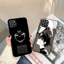 New Anime Jujutsu Kaisen Phone Case For iphone 5s 6 7 8 11 12 plus xsmax xr pro mini se Cover Fundas Coque