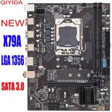 Transcender X79A X9A lga1356 apoio motherboard memória do servidor REGECC Pin DDR3 X16 Para Intel lga 1356 CPU Servidor Mainboard Área de trabalho
