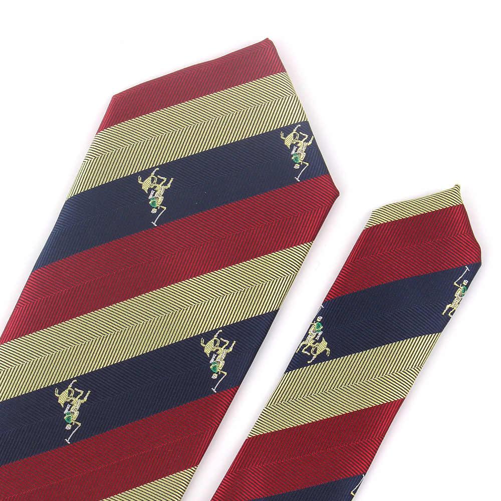 موضة مخطط التعادل للرجال البوليستر الجاكار نحيل رابطة عنق لل زفاف بدلة عمل العلاقات الكلاسيكية ضئيلة الرجال ربطة العنق Gravatas