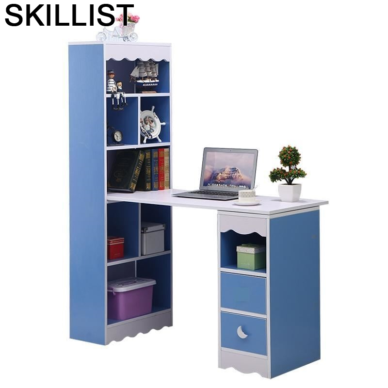 Tafel Notebook Support Ordinateur Portable De Oficina Escritorio Desk Laptop Stand Computer Mesa Tablo Table With Bookcase