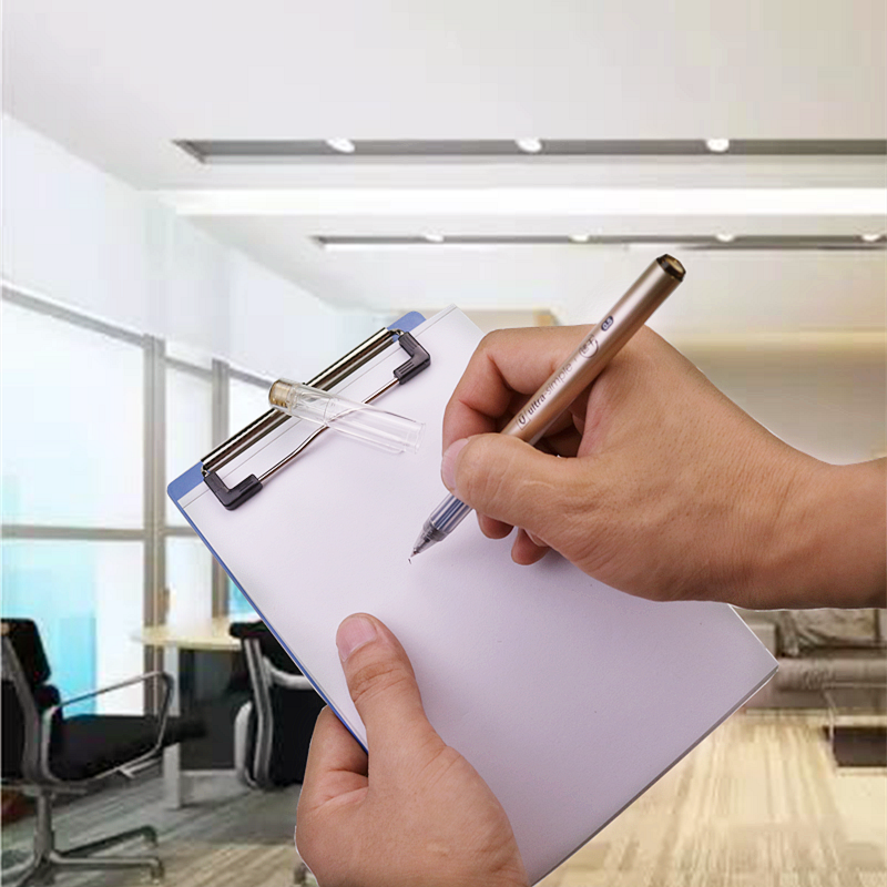 Wen Ni A6 Clipboard Papan Tulis Papan Klip Peralatan Kantor dan Sekolah Kantor Aksesoris Gratis Pengiriman