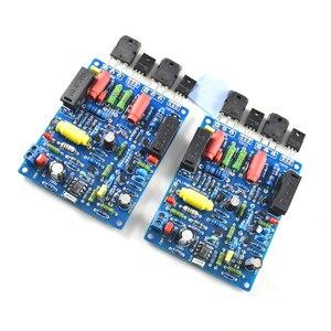 Image 4 - 2 sztuk 2 kanały QUAD405 100W + 100w moc dźwięku płyta wzmacniacza zestaw DIY zmontowana płyta