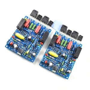 Image 4 - 2PCS 2 channels QUAD405 100W+100w Audio Power Amplifier Board DIY KIT Assembled board