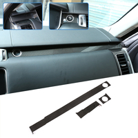 Real Carbon Fiber Passenger Decoration Trim For Range Rover Sport RR Sport 2014 2019 LHD Accessories