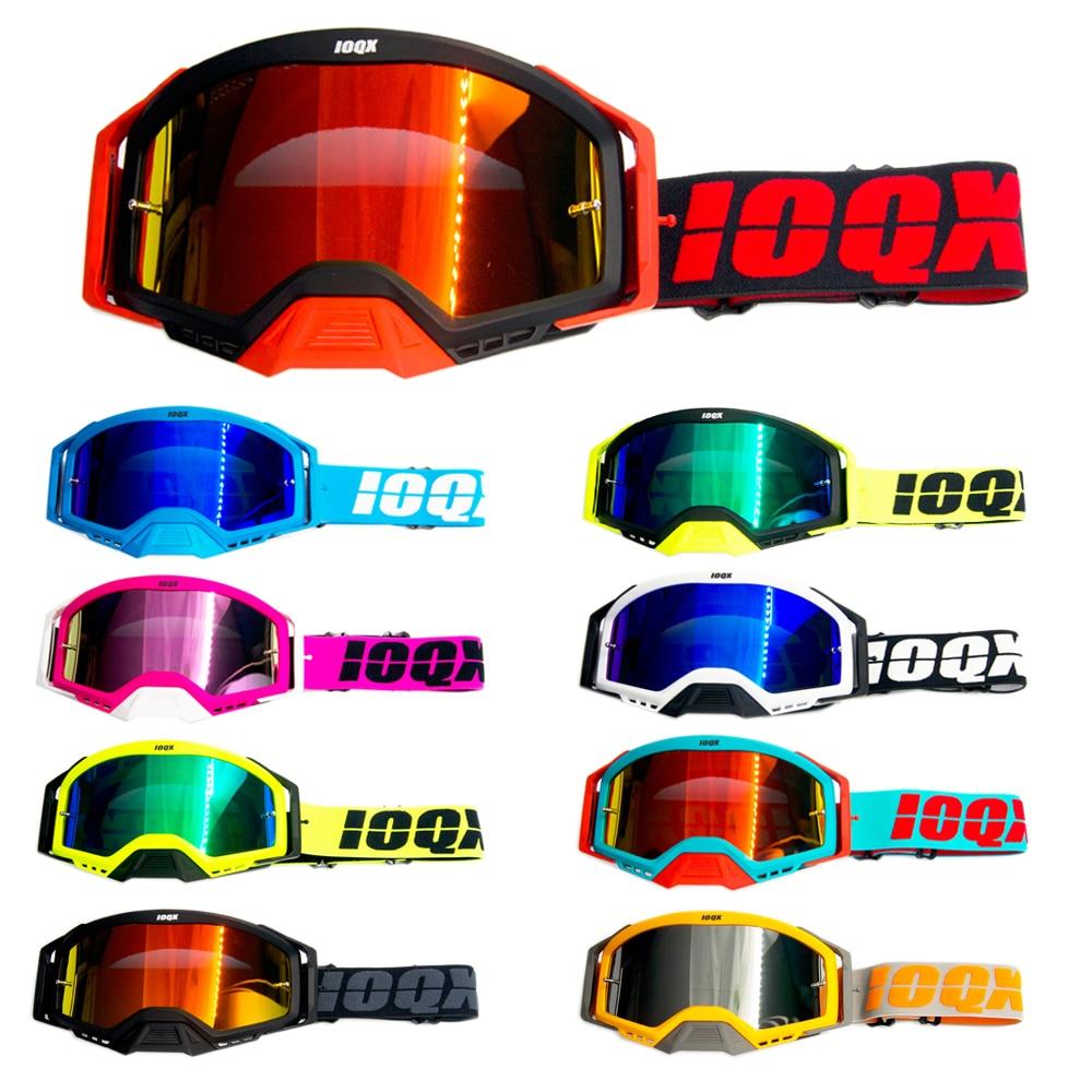 Newest 2020 Ioqx Mx Goggles Motocross Glasses Off Road Dirt Bike Motorcycle Helmets Goggle Ski Sport Mountain Bike Sunglasses Convenience Goods