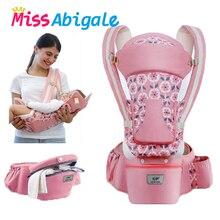 MissAbigale эргономичная переноска-кенгуру для младенцев, переноска-Хипсит для детей, слинг для новорожденных