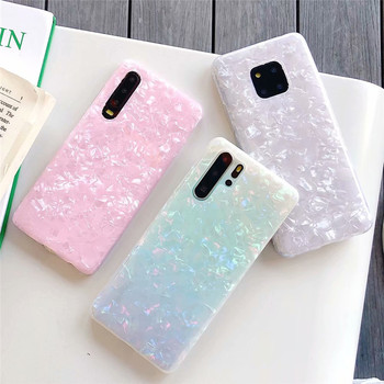 For Huawei P30 Pro Glossy Marble Girls Phone Case For Huawei p40 Pro P40 lite P30 P20 lite Mate 20 Honor 20 Pro SoftTPU Cover 1
