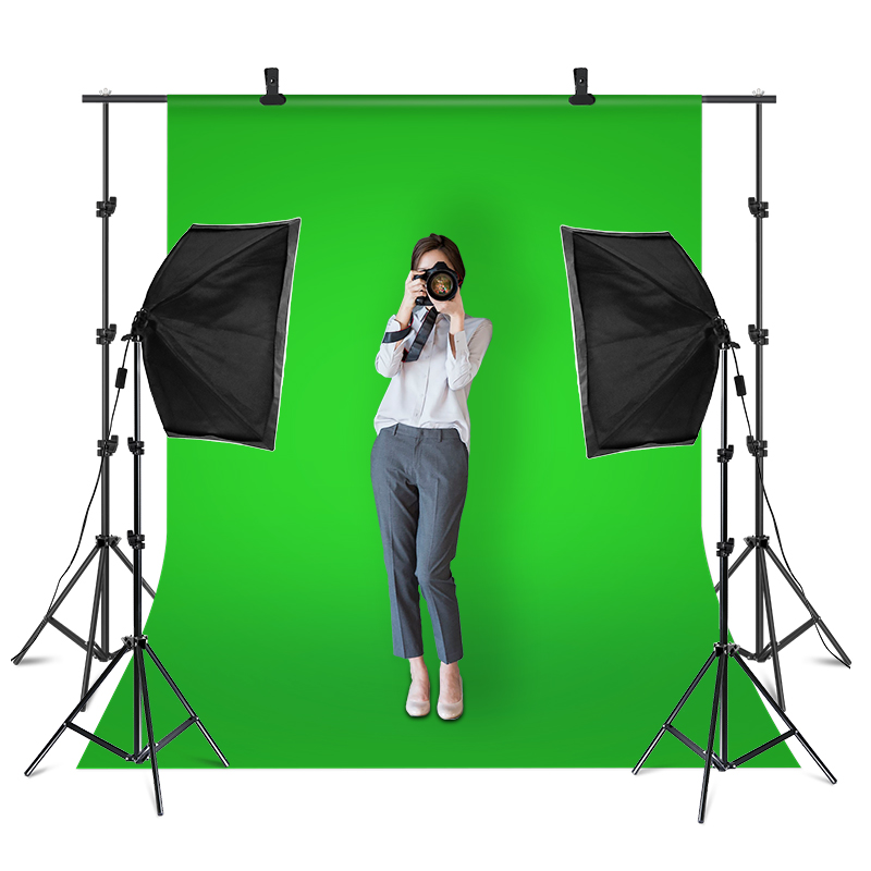 135W Softbox Continuous Lighting Kit with Backdrop Support System for Photo Studio Product, Portrait and Video Shoot 2