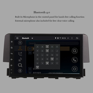 Image 4 - 9 Inch Android 9.0 IPS Screen Car Radio player  For Honda Civic 2016 2020 Car Video WIFI Multimedia Car GPS Navigation Head Unit