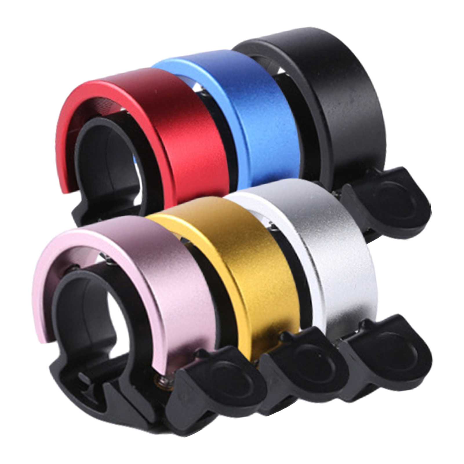 Bicycle-Horn Bike-Ring Clear Innovative Loud-Sound Aluminum-Alloy Unique Simple And O-Shaped