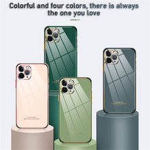 Suitable for iphone11 Apple 12 XR SE2 6D electroplated soft shell anti-drop and scratch-resistant Phone case eye protection