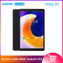 Alldocube IPlay20 Telefoontje Tablet Android 10 Octa-Core 4Gb Ram 64Gb Rom 10.1 Inch Tablet Pc bluetooth 5.0 Type-C 6000Mah