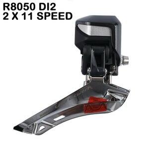 Image 4 - Shimano Di2 Ultegra R8050 R9070 50/34T 53/59T 165/170/172/175mm 2*11 velocità bici da strada aggiornamento gruppo bici R8000