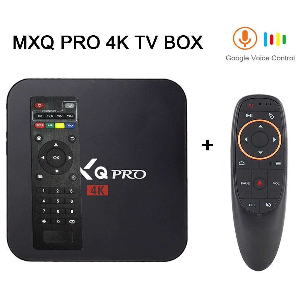 Hot Sales Set-top Boxs MXQ Pro Android Tv Box 4k 2G 16G RK3229 Smart BOX Android 7.1 4K HD 3D 2.4G WiFi PK H96 Max X96 Tv Box