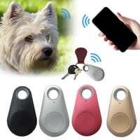Pets Smart Mini GPS Tracker Anti-Lost Waterproof Bluetooth Tracer For Pet Dog Cat Keys Wallet Bag Kids Trackers Finder Equipment