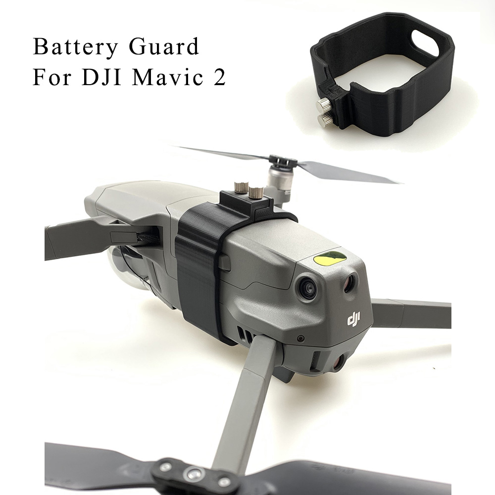 Flight Battery Buckle Fuselage Protective Mount For DJI Mavic 2 Pro/Zoom Drone Anti-slip Strap Protector Safety Locker Guard
