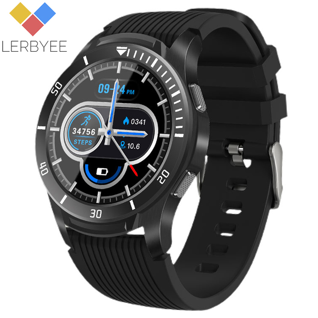 $ US $26.36 Lerbyee Smart Watch GT106 Full Screen Touch Heart Rate Monitor Call Reminder Fitness Watch Sport Smartwatch for IOS Android