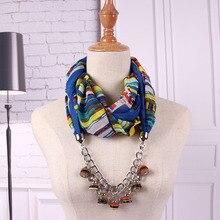 Punk piston type rainbow coconut shell hanging item scarf female autumn and winter women street photos pendant
