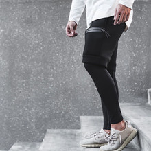 цена 2018 New Fashion Sporting Beaching Shorts Men Cotton Bodybuilding Sweatpants Fitness Short Jogger Casual Gyms Men Shorts M~XXL