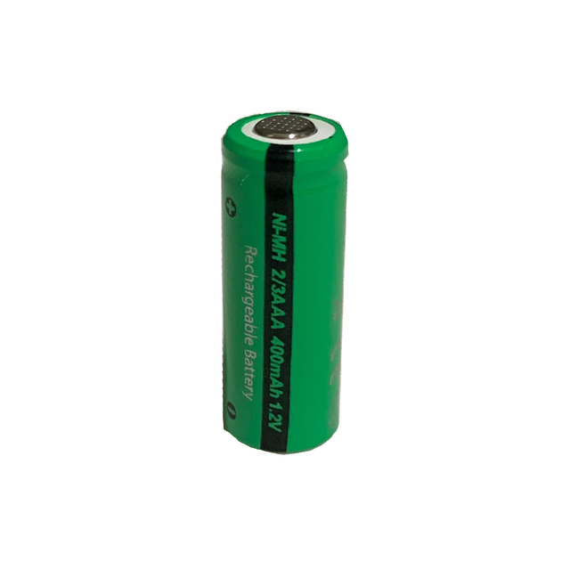 24 pièces PKCELL 400mAh 2/3AAA batterie Rechargeable NiMh 2/3aaa piles NI-MH 1.2V