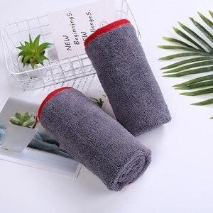 Image 5 - Chiffon de séchage en microfibre à poils longs, serviette Super absorbante sans tourbillon pour fenêtre de peinture, haute Performance de teinture, 40x60cm