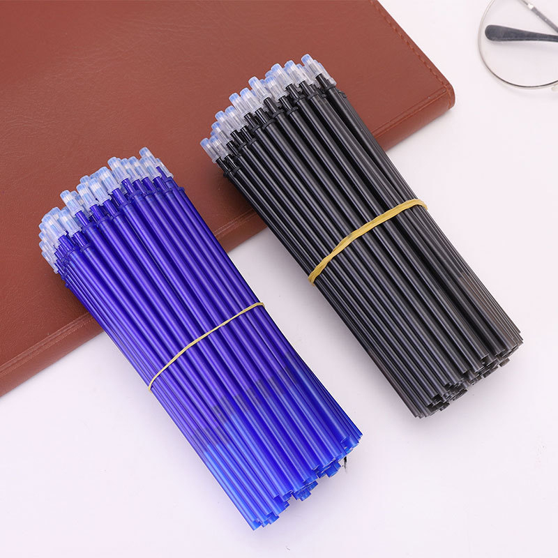 20PCS Erasable Pen Refill 0.5mm Blue/Black Ink Magic Erasable Pen Refill Students Writing Pen Gift Stationery For Students