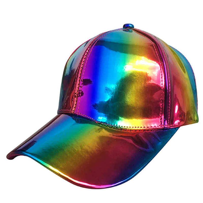 Brand Fashion Hip-hop Snapback Hat For Rainbow Color Changing Hat Cap Back To The Future Prop Baseball Cap