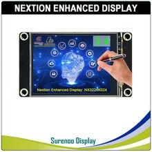 "2.4 ""NX3224K024 Nextion تعزيز HMI USART UART المسلسل مقاوم اللمس TFT وحدة عرض LCD لوحة لاردوينو التوت بي"