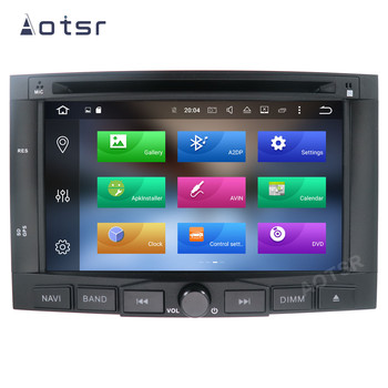 AOTSR 2 Din Car Radio Auto Android 10 For Peugeot 3008 5008 2009 - 2015 Multimedia Player Stereo GPS Navigation DSP AutoRadio image