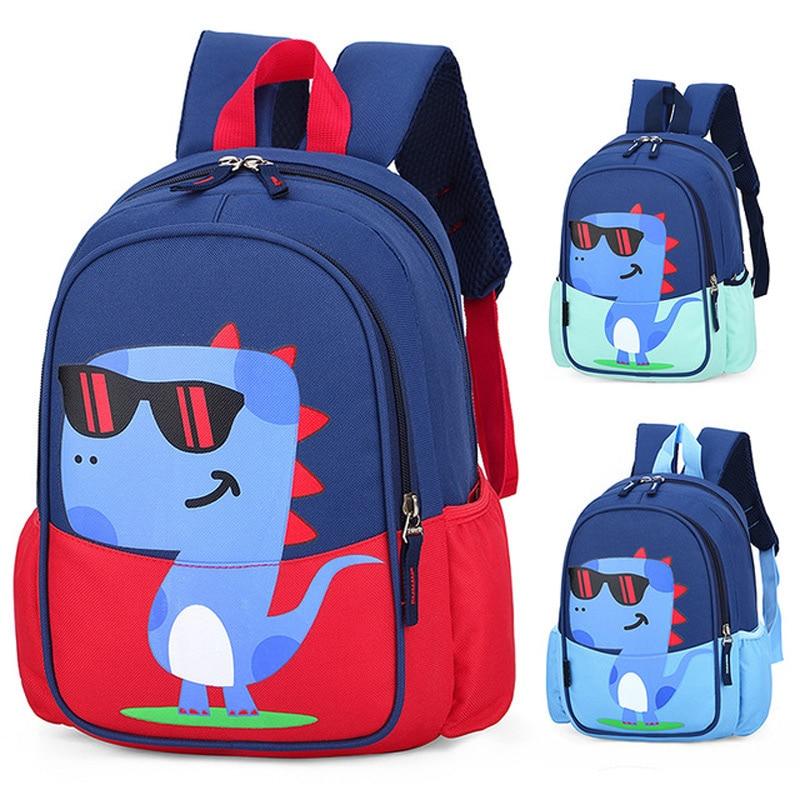 Children School Bags For Boys Cool  Kindergarten School Dinosaur Backpacks Creative Animals Kids Bag Mochila