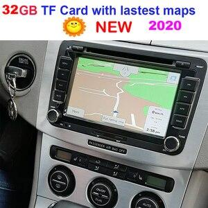 GPS Аксессуары 32G gps карты sd карта 2020 последняя карта для автомобиля WinCE gps навигационная карта Европа/Россия/США/CA/AU/Израиль Автомобильная gps к...