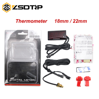 ZSDTRP Koso Motorcycle Thermometer Water Temp Temperature Digital Display Gauge for Yamaha MT 07 For honda CB500X Cb650F ER6N image