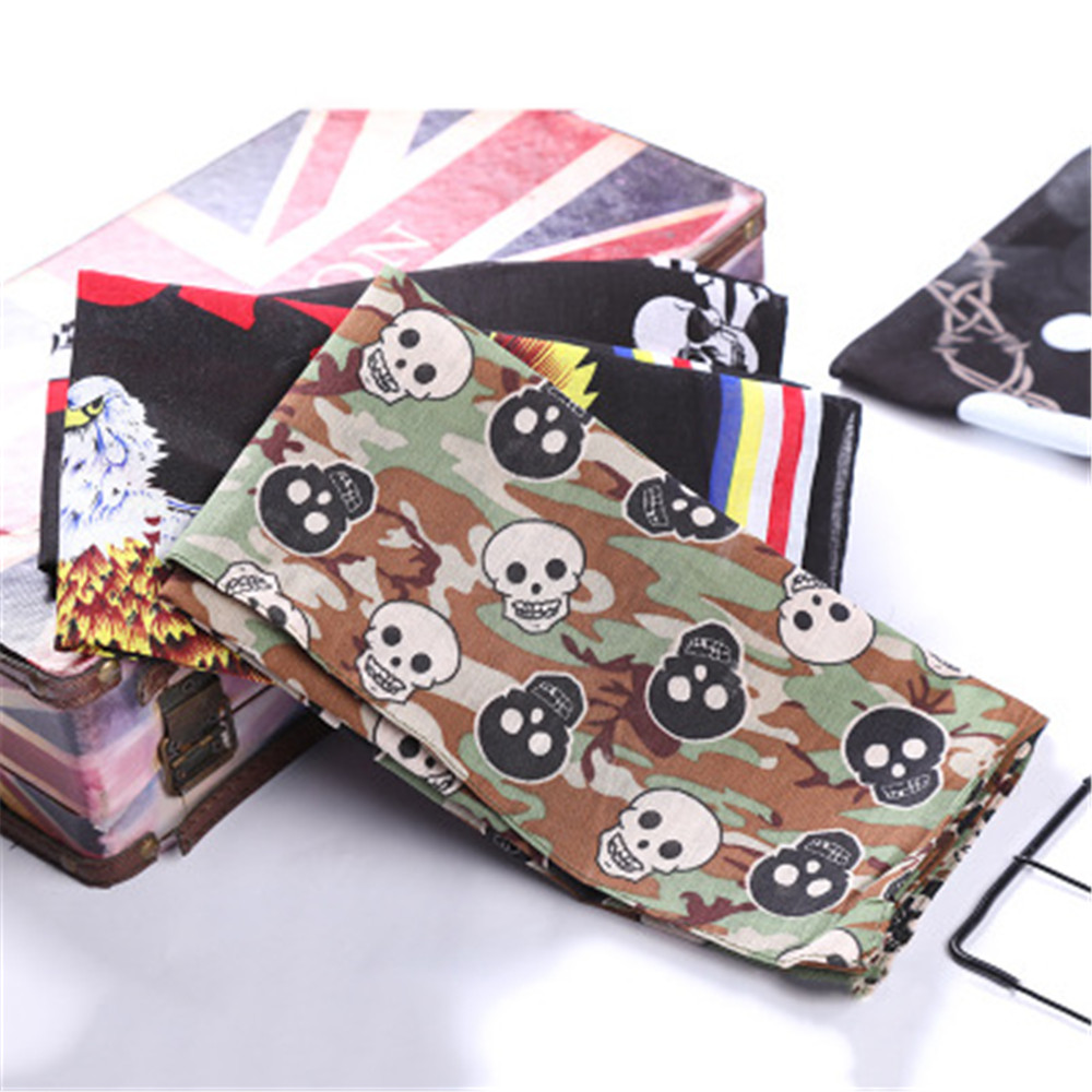 Fall / Winter Cotton, Korean Hip-hop, Hip-hop, Vintage Cashew Hews, Men's And Women's Printed Headscarves JQ016