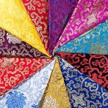 Brocade Clothing fabric satin fabrics material for DIY handwork width 75cm