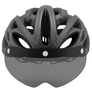 Image 2 - Cairbull Ultralight Cycling Helmet With Removable Visor Goggles Bike Taillight Intergrally molded Mountain Road MTB Helmets 230g