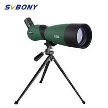 SVBONY SV403 Zoom 20-60X60/25-75x70mm Spotting Scope Multi-Coated Optics Monocular Telescope for birdwatching w/ Table Tripod