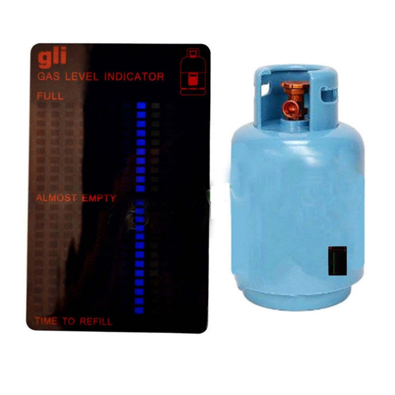 Propane Butane LPG Fuel Gas Tank Level Indicator Magnetic Gauge Caravan Bottle Temperature Measuring Stick